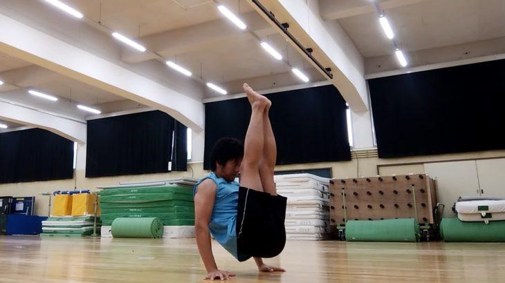 ブイシット(脚上挙、Vシット)-V-sit- 練習方法ver1