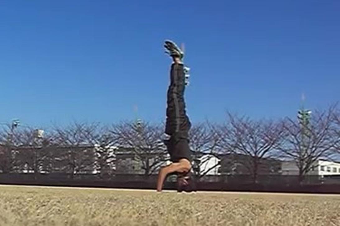 三点倒立 -Tripod headstand- 練習方法