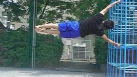 ヒューマンフラッグ(人間鯉のぼり)-Human flag- 練習方法